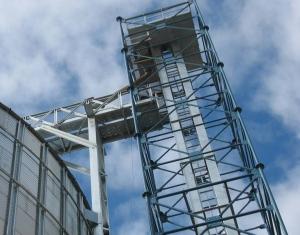 Башни норий / Металлоконструкции